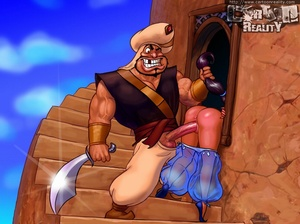 Sexy cartoons. Aladdin's bitch fucking. - XXX Dessert - Picture 4