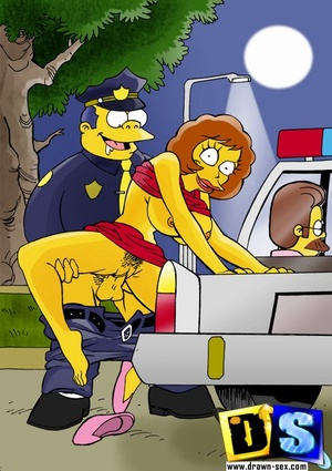 Animation porn. The Simpsons pussies. - XXX Dessert - Picture 3