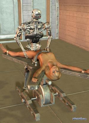 фото секс роботов в действии