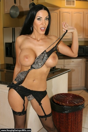 Strip Swinger sex. hot milf swinger wife <b>strips</b> out of sexy li <b></b>