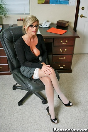 Nice boobs. Big titted mature office chi - XXX Dessert - Picture 2