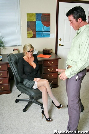 Nice boobs. Big titted mature office chi - XXX Dessert - Picture 4