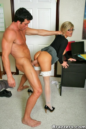 Nice boobs. Big titted mature office chi - XXX Dessert - Picture 11