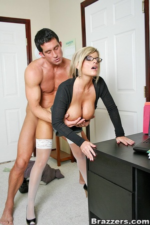 Nice boobs. Big titted mature office chi - XXX Dessert - Picture 13