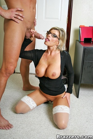 Nice boobs. Big titted mature office chi - XXX Dessert - Picture 15