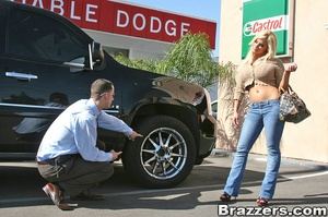 Horny cock. Shyla stylez fucks the car r - XXX Dessert - Picture 4